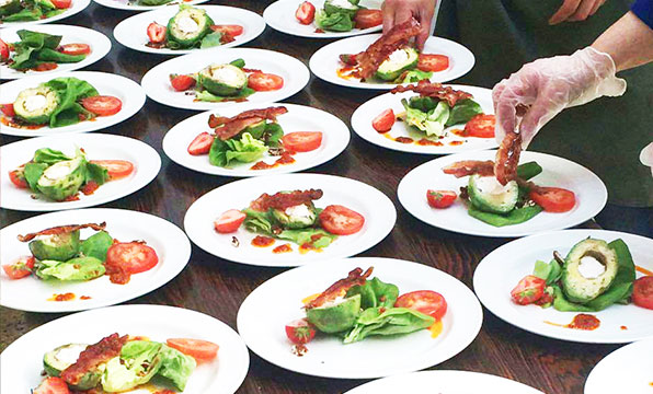 Byron Catering - food photo